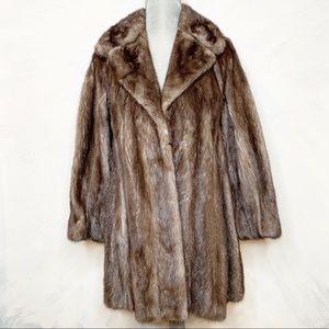 Stunning Vintage Mink Coat by Clyde Burtrum
